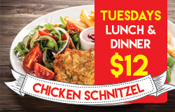Tuesdays Special Meal