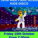 Free Kids Disco – Taree West Public School P & C Raffle
