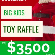 BIG KIDS TOY RAFFLE