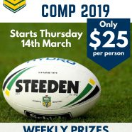 FOOTY TIPPING COMP 2019