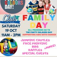 FOOTY COLOURS FAMILY FUN DAY