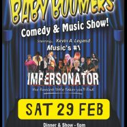 Baby Boomers Comedy & Music Show – Club West