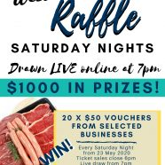 Online Raffles at Club West