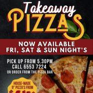 Takeaway Pizza's