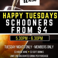 Happy Tuesdays at Club West